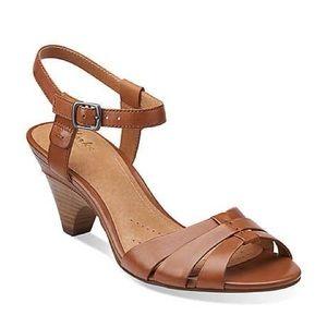 CLARKS ARTISAN Evant Regency leather sandal 8.5 M
